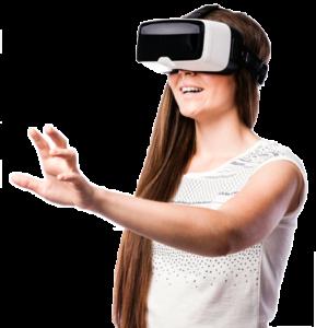 Casque VR pour visite virtuelle immobilière